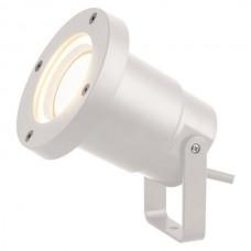 Φωτιστικό σποτ κήπου σιντριβανιού πλαστικό GU10 220V χρώματος λευκό στεγανό αδιάβροχο IP65 εξωτερικού χώρου Φ9,5cm x 10cm για λάμπες led