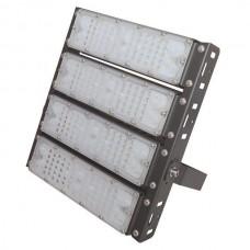 Προβολέας led smd 200W (200 watt) 4x50W επαγγελματικός ψυχρό λευκό φως 5000Κ αλουμινίου μαύρος στεγανός IP65 24000lumen 30cm x 31,7cm 100-240V AC