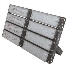 Προβολέας led smd 400W (400 watt) 8x50W επαγγελματικός ψυχρό λευκό φως 5000Κ αλουμινίου μαύρος στεγανός IP65 48000lumen 33,7cm x 58cm 100-240V AC