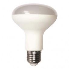 Λάμπα led R80 E27 12W σποτ μπαλκονιού 2700K θερμό λευκό φως ευρείας ανοιχτής δέσμης 120° SMD καθρέπτου Φ80mm 1100lumens 220V