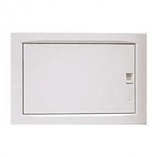 Πίνακας 12 (δώδεκα) θέσεων 1 σειράς χωνευτός γυψοσανίδας ηλεκτρολογικός με πόρτα 250x369x102mm χρώματος λευκό και στεγανότητα IP40