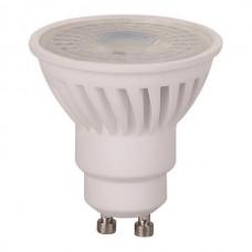 Λάμπα led 10W GU10 4000K ενδιάμεσο φυσικό λευκό φως στενής δέσμης 38° SMD υψηλής φωτεινότητας 1000lumens Φ50mm 220V