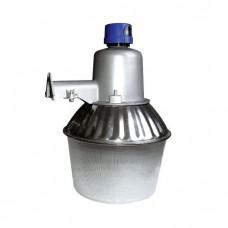 Φωτιστικό καμπάνα τοίχου αλουμινίου με φωτοκύτταρο (ανιχνευτή) μέρας νύχτας ντουι E27 μικτού φωτισμού Φ35cm 220V για λάμπες led και οικονομίας