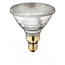 Λάμπα θερμοκρασίας (θέρμανσης) 400°C Ε27 175W διάφανη χοιροστασίου οβελιστηρίου PAR38 220V 240V