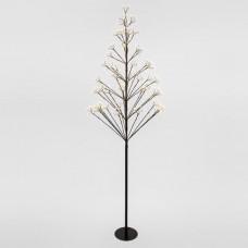 Χριστουγεννιάτικο δέντρο 180cm ύψος φωτιζόμενο με 650 mini led (250 flash led) λαμπάκια θερμό λευκό φώς στεγανό IP44 και διάμετρο 82cm