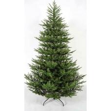 Χριστουγεννιάτικο δέντρο 210cm (2,10 μέτρα) έλατο Άλπεων mixed υλικό pvc με πλαστικό διάμετρος 135cm μεταλλική βάση και 3218 κλαδιά