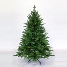 Χριστουγεννιάτικο δέντρο 150cm (1,50 μέτρα) έλατο mixed Νορβηγίας υλικό pvc με πλαστικό διάμετρος 107cm μεταλλική βάση και 1336 κλαδιά