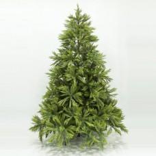 Χριστουγεννιάτικο δέντρο ύψος 210cm (2,10 μέτρα) πολυτελείας σειρά Πίνδος υλικό pvc διάμετρος 156cm μεταλλική βάση και 1362 κλαδιά