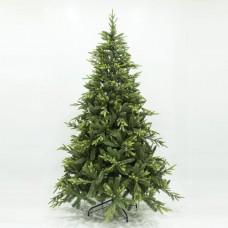 Χριστουγεννιάτικο δέντρο ύψος 210cm (2,10 μέτρα) πολυτελείας σειρά Πήλιο υλικό pvc διάμετρος 147cm μεταλλική βάση και 1141 κλαδιά