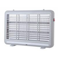 Εντομοπαγίδα ηλεκτρική LED (εντομοκτόνο) 4W με συρτάρι συλλογής εντόμων πλαστικό αθόρυβη λειτουργία 41,2cm x 28cm γκρι χρώμα