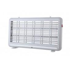 Εντομοπαγίδα ηλεκτρική LED (εντομοκτόνο) 6W με συρτάρι συλλογής εντόμων πλαστικό αθόρυβη λειτουργία 51,7cm x 28cm γκρι χρώμα
