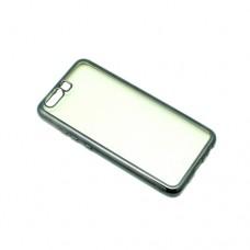 Θήκη HUAWEI P10 κινητού τηλεφώνου TPU σιλικόνης electro jelly back case χρώματος γκρί