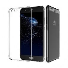 Θήκη HUAWEI P10 PLUS κινητού τηλεφώνου TPU σιλικόνης πολύ λεπτή χρώματος διάφανο