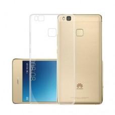 Θήκη HUAWEI P10 LITE κινητού τηλεφώνου TPU σιλικόνης πολύ λεπτή χρώματος διάφανο