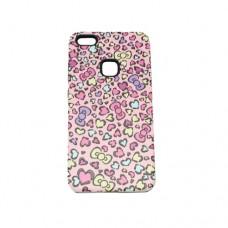 Θήκη HUAWEI P10 LITE κινητού τηλεφώνου TPU σιλικόνης back cover με σχεδιο ροζ καρδούλες 3D