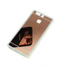 Θήκη HUAWEI P9 κινητού τηλεφώνου TPU με καθρέφτη πλαστική χρώματος ρόζ