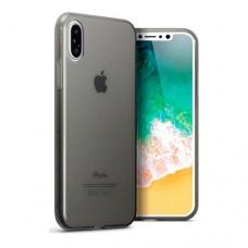 Θήκη iphone X κινητού τηλεφώνου TPU σιλικόνης πολύ λεπτή χρώματος γκρί