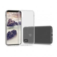 Θήκη iphone X κινητού τηλεφώνου TPU σιλικόνης πολύ λεπτή χρώματος διάφανo