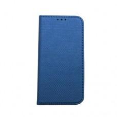 Θήκη iphone X κινητού τηλεφώνου δερμάτινη smart magnet book χρώματος μπλέ
