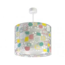 Φωτιστικό παιδικό μονόφωτο secrets (μυστικά) κυκλικό με διπλό τοίχωμα κρεμαστό Ε27 (δώρο μια λάμπα LED E27)