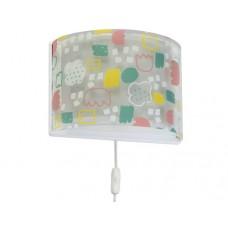 Φωτιστικό παιδικό μονόφωτο απλίκα τοίχου secrets (μυστικά) με διπλό τοίχωμα Ε27 (δώρο μια λάμπα LED E27)