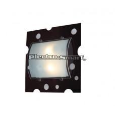 Φωτιστικό απλίκα πλαφονιέρα τοίχου και οροφής δίφωτο 2 x Ε27 μεταλλικό χρώματος μάυρη