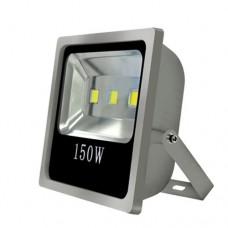 ΠΡΟΒΟΛΕΑΣ ΑΛΟΥΜΙΝΙΟΥ 3 LED COB ΓΚΡΙ 3Χ50W (150W) ΣΤΕΓΑΝΟΣ ΙP65 ΨΥΧΡΟ ΛΕΥΚΟ ΦΩΣ 6500Κ