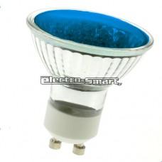 ΛΑΜΠΑ LED 3W GU10 230V SMD 120° ΜΠΛΕ ΧΡΩΜΑ