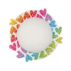 Φωτιστικό παιδικό cuore (χρωματιστές καρδούλες) πλαφονιέρα απλίκα τοίχου οροφής