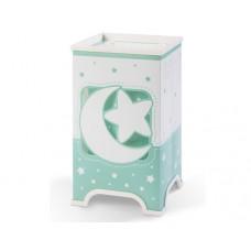 Φωτιστικό κομοδίνου γραφείου παιδικό σειρά Moon green (φεγγάρι-αστέρι πράσινο) E14