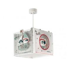Φωτιστικό παιδικό μονόφωτο σειρά Πειρατής κρεμαστό οροφής E27 φωσφορίζον με κιτ ανάρτησης διπλού τοιχώματος (δώρο μια λάμπα LED E27)