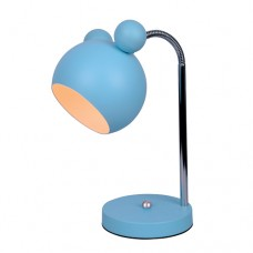 Φωτιστικό κομοδίνου γραφείου παιδικό 1 x E27 Mickey Mouse 12 x 30cm χρώματος μπλέ