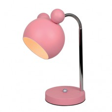 Φωτιστικό κομοδίνου γραφείου παιδικό 1 x E27 Minnie Mouse 12 x 30cm χρώματος ροζ