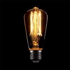 ΛΑΜΠΑ EDISON VINTAGE SLIM ΑΒΟΚΑΝΤΟ Ε14 40W ΘΕΡΜΟ ΦΩΣ 2700Κ 9,4 x 4.5cm ΝΤΙΜΑΡΙΖΟΜΕΝΗ (DIMMABLE) ΔΙΑΚΟΣΜΗΤΙΚΗ ΝΗΜΑΤΟΣ ΠΑΛΙΟΥ ΤΥΠΟΥ 100 lumens 230V