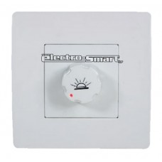 DIMMER (ΡΟΟΣΤΑΤΗΣ) ΩΜΙΚΟΣ 220V 400W BASIC ΧΡΩΜΑ ΛΕΥΚΟ