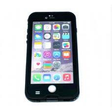 ΘΗΚΗ iPHONE 6/6s PLUS ΜΕ TOUCHID ΚΙΝΗΤΟΥ ΤΗΛΕΦΩΝΟΥ ΑΔΙΑΒΡΟΧΗ (WATERPROOF) ΧΡΩΜΑΤΟΣ ΜΑΥΡΟ
