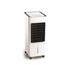 Air cooler σύστημα ψύξης δροσισμού 80W 6,5 λίτρα δοχείο με τηλεκοντρόλ κάλυψη εώς 15τμ με περιστρεφόμενες περσίδες και φίλτρο καθαρισμού αέρα