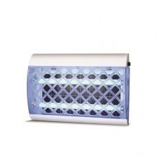 Εντομοκτόνο (εντομοπαγίδα) 2 x 25W (50W) ηλεκτρικό με κόλλα εώς 150τμ πλαστικό 51cm χρώματος λευκό μπλέ