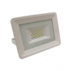 Προβολέας 30W led ενδιάμεσο λευκό φώς 4000K smd extra slim τύπου tablet αλουμινίου χρώματος λευκό στεγανός αδιάβροχος IP65 2550 lumens