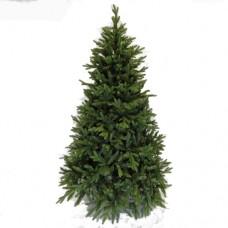 Χριστουγεννιάτικο δέντρο ύψος 240cm τύπου Νορβηγείας mixed pvc με πλαστκό διάμετρος 155cm 3792 κλαδιά καί μεταλλική βάση