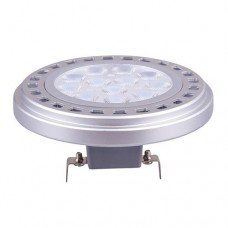 Λάμπα led ar111 12v 11,5w θερμό λευκό φως 2700κ ντιμαριζόμενη (dimmable) ac dc g53 στενή δέσμη 24° επαγγελμάτικη 820lumen
