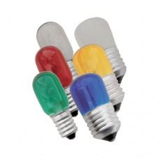 Λάμπα (λαμπάκι) led νυκτός Ε14 1,5W κίτρινο φως 5cm x 2,3cm 220V Τ23