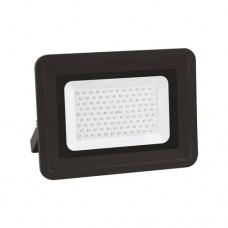 Προβολέας led 100W smd ενδιάμεσο λευκό 4000Κ extra slim τύπου tablet 31 x 25cm αλουμινίου χρώμα μαύρο στεγανός αδιάβροχος IP65 8500lumens