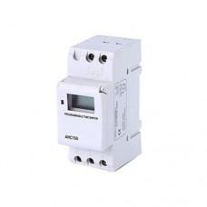 Χρονοδιακόπτης ράγας (για πίνακα) φαρδύς ψηφιακός εβδομαδιαίος 20A 230V και εφεδρεία τρία (3) χρόνια