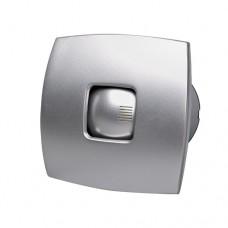 Εξαεριστήρας μπάνιου λουτρού (τουαλέτας) Φ10 15W ασημί αθόρυβος με ροή αέρα 98m3/h και 2500 στροφές