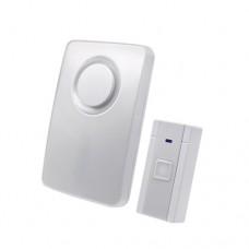 Ασύρματο κουδούνι με 36 μελωδίες led λαμπάκι 65-85dB επίπεδο ήχου και απόσταση λειτουργίας έως 80 μέτρα