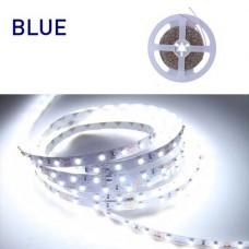 Ταινία Led 6W 12V DC μπλε φως μη στεγανή IP20 εύκαμπτη αυτοκόλλητη 120°