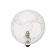 Ανεμιστήρας τοίχου Φ40cm 40W (επίτοιχος) λευκός περιστρεφόμενος με τηλεχειριστήριο (κοντρόλ) χρονοδιακόπτη 3 φτερωτές και 3 ταχύτητες