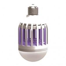 Λάμπα (λαμπτήρας) led UV 5W E27 εξουδετέρωσης εντόμων εντομοαπωθητική (εντομοκτόνα) κάλυψη έως 40m² ψυχρό λευκό φώς 550 lumens