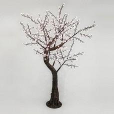 Χριστουγεννιάτικο δέντρο αμυγδαλιά σιλικόνης διαστάσεων 200cm x 150cm φωτιζόμενο με 480 led λαμπάκια θερμό λευκό φώς στεγανό IP44